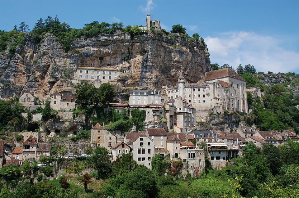 Fransa'da Bir Kasaba Rocamadour