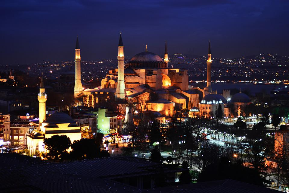 Hagia Sophia, Cami, Night