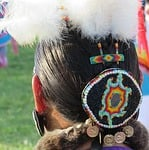 headdress, feather