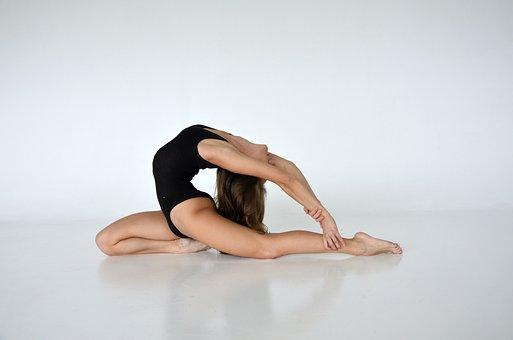 Girl, Gymnastics, Sports