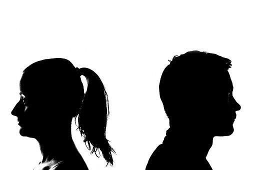 Uiteenvallen, Echtscheiding, Scheiding