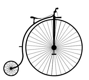 Penny Farthing, Bike, Bicycle, Old