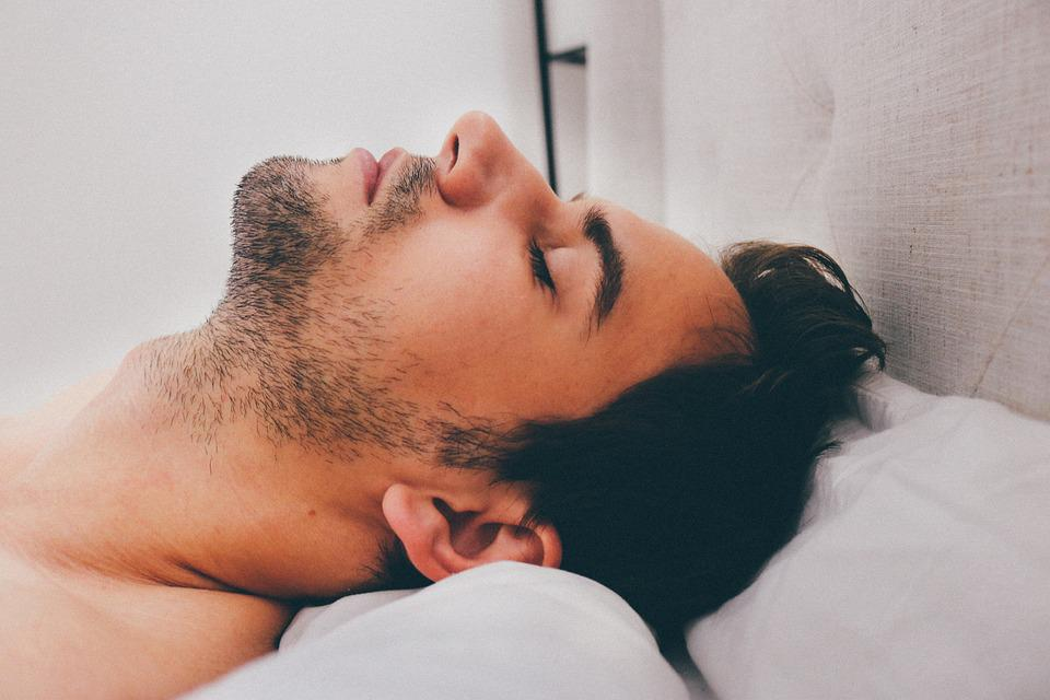 Image result for sleeping man