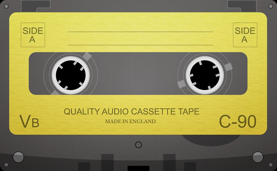 Zvuková Kazeta, Kazetová Páska, Audio, Kazeta, Hudba