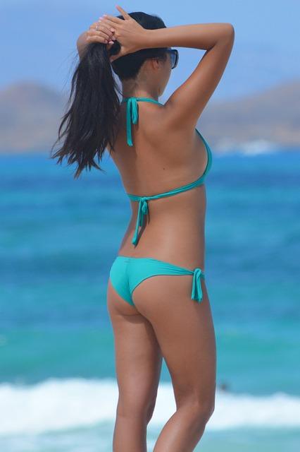 Free photo: Woman, Bikini, Beachwear, People - Free Image
