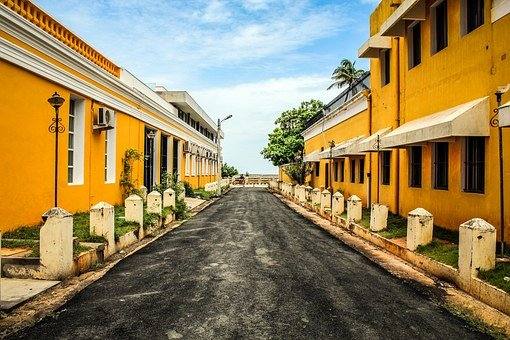 French Colony India Colonial Landmark City