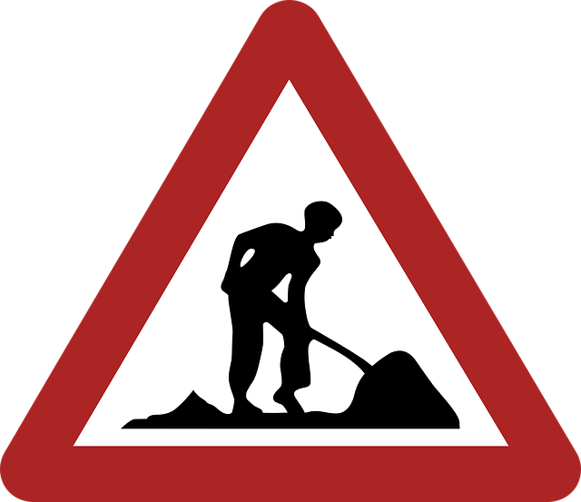 Construction Reduce Speed 183 Free Vector Graphic On Pixabay