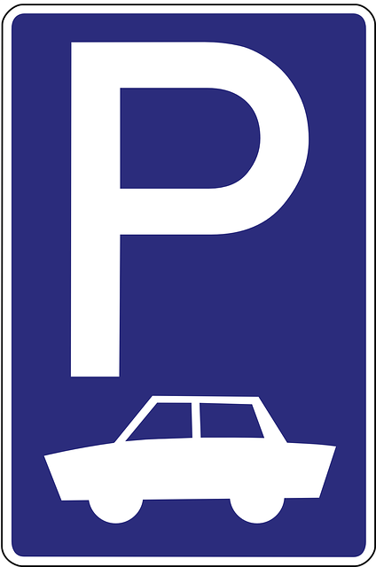 Parking Lot Space Road · Free vector graphic on Pixabay Green Road Sign Png