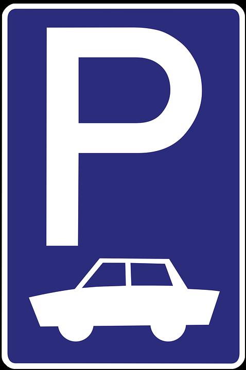 No parking lot clip art