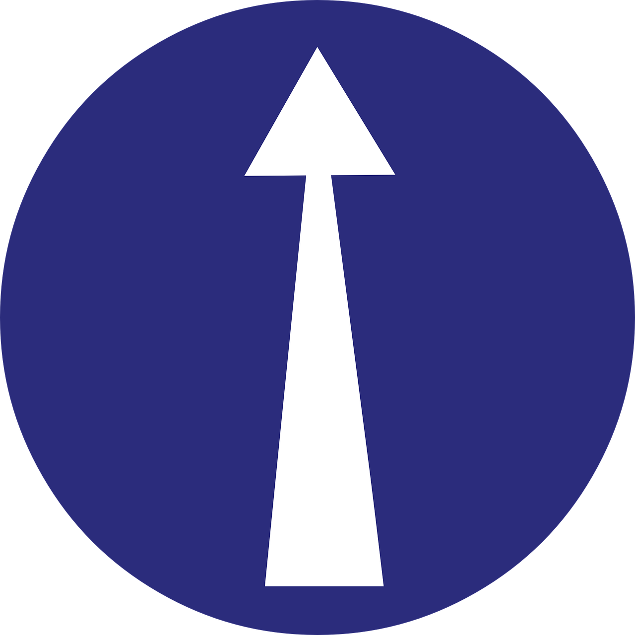 Straight Ahead Sign Png