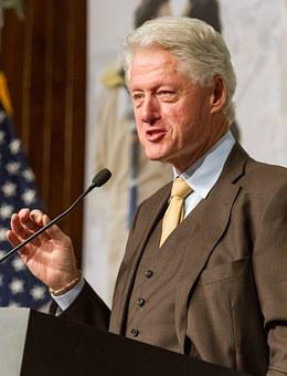Bill Clinton President United States Speak
