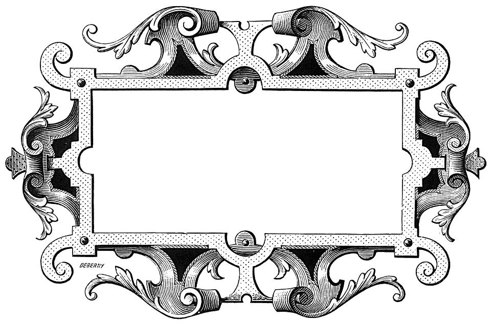 Recargado Vintage Marco · Imagen gratis en Pixabay