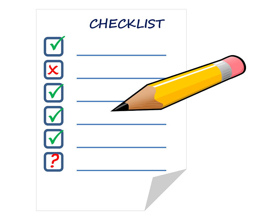 checklist list check free image on pixabay