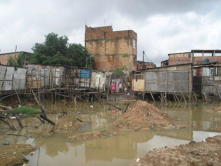 Inundado, Pobreza, Miseria, Pobre