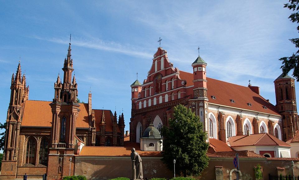 Litauen, Stadt, Gebäude