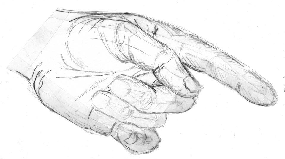 Tangan Menampilkan Jari Telunjuk Gambar Gratis Di Pixabay
