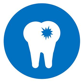 歯科医, アイコンを, 空洞, 歯科, 歯, 虫歯, 歯ブラシ, クリーン