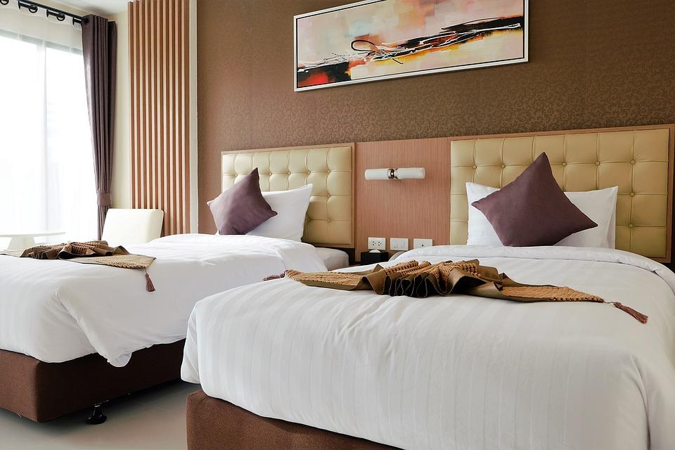 Bed Bedroom Double Bed