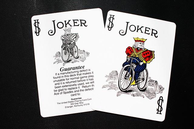 Free Photo Card Joker Deck Bicycle Free Image On
