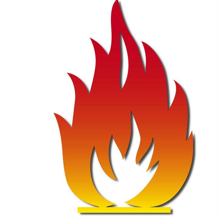 Рисунок пламя