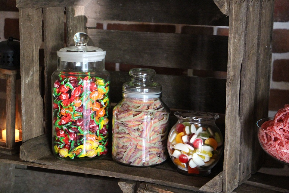 Snack, Candy-Bar, Sweet, Déco