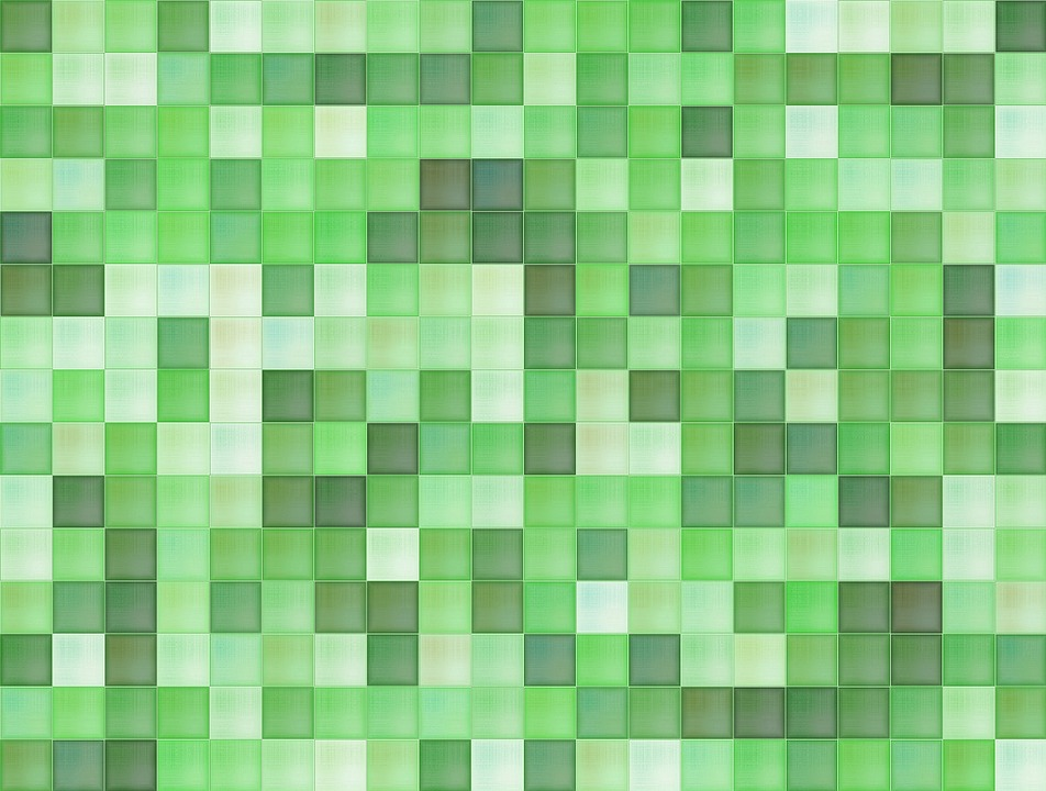 mosaic wallpaper green pattern geometric backdrop