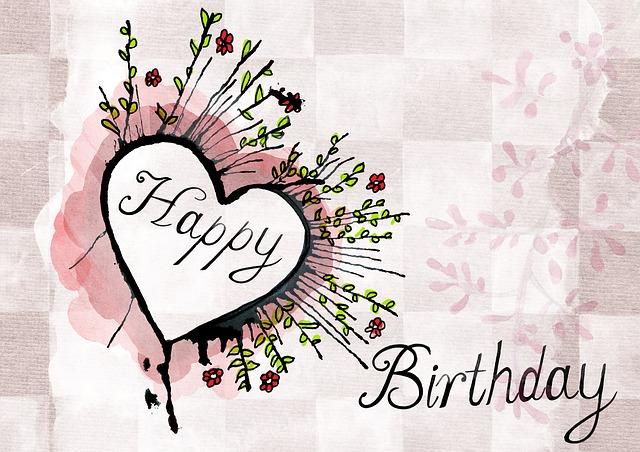 Happy Birthday Greeting Card · Free image on Pixabay