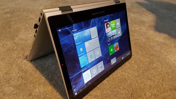 Computer, Laptop, Windows 10, Hybrid