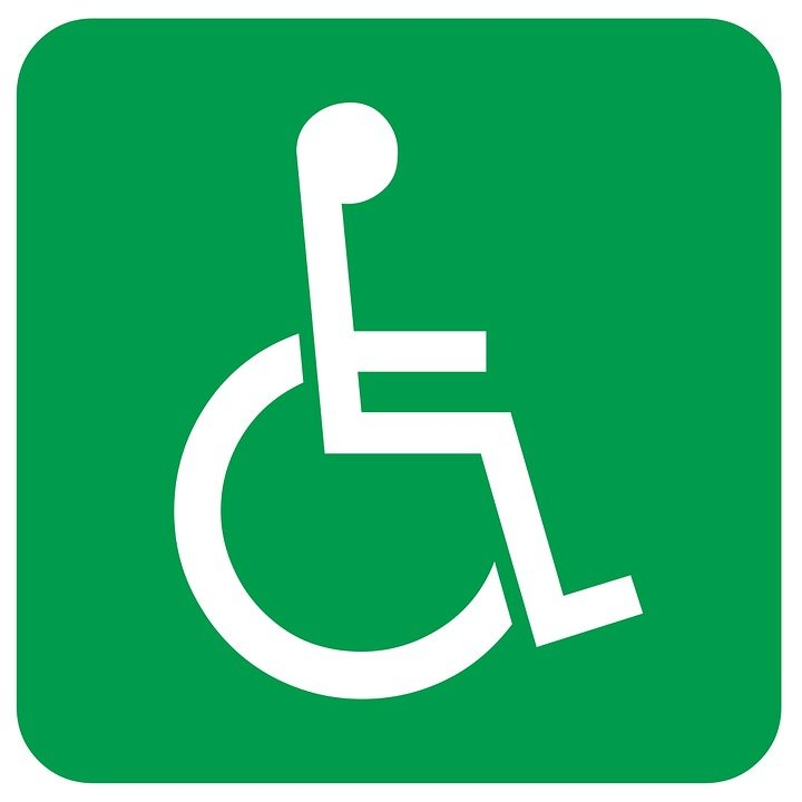 Disabled, Sign, Wheelchair, Disabled Person, Help