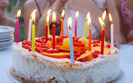 Kuchen, Geburtstag, Geburtstagstorte
