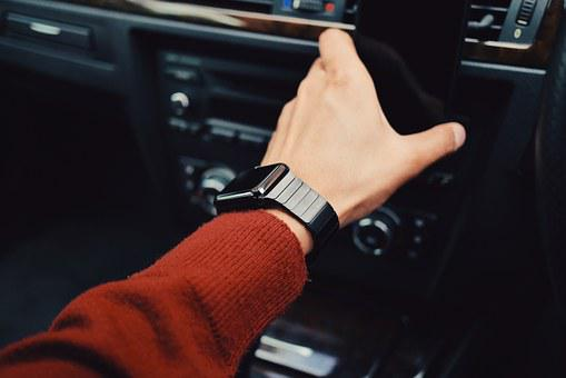 Watch Car Vehicle Automobile Business Man