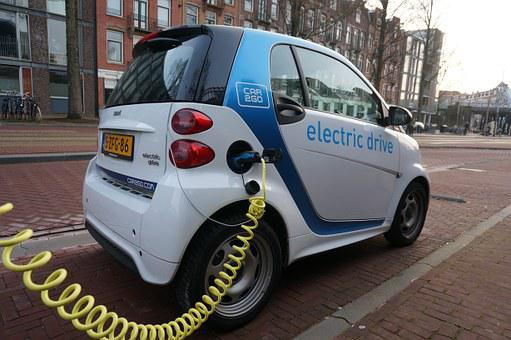 Amsterdam Smartcar Electric Car Eco Green