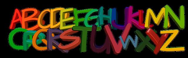 Free illustration: Banner, Header, Abc, Alphabet - Free ...