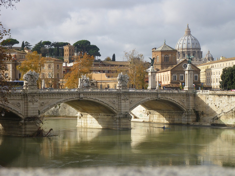 Brücke, Vatikan, Rom