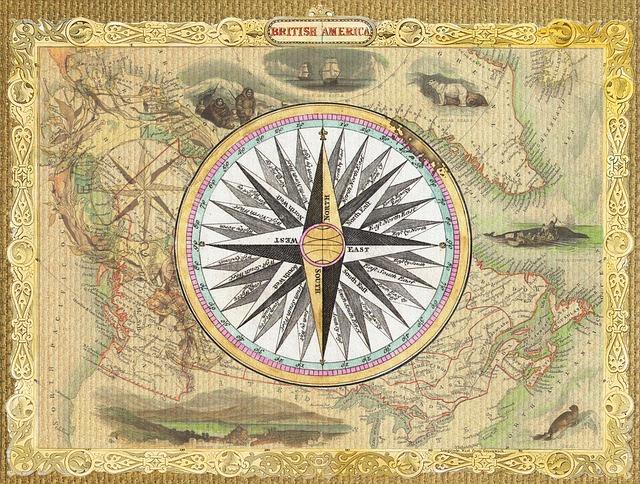 Free Illustration Map Vintage Nautical Collage Free