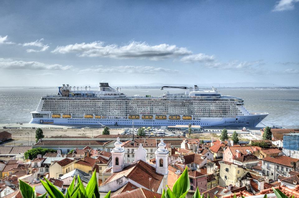 Free Photo Cruise Ship Lisbon Cruise Summer Free Image On - Lisbon cruise ship port