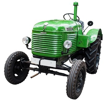 Tractor, Old, Oldtimer, Tractors