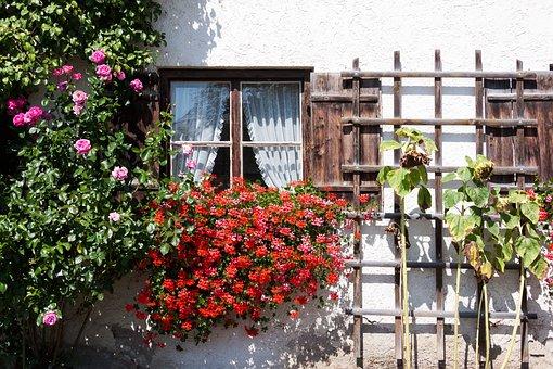 Farmhouse, Bavaria, Upper Bavaria, Old
