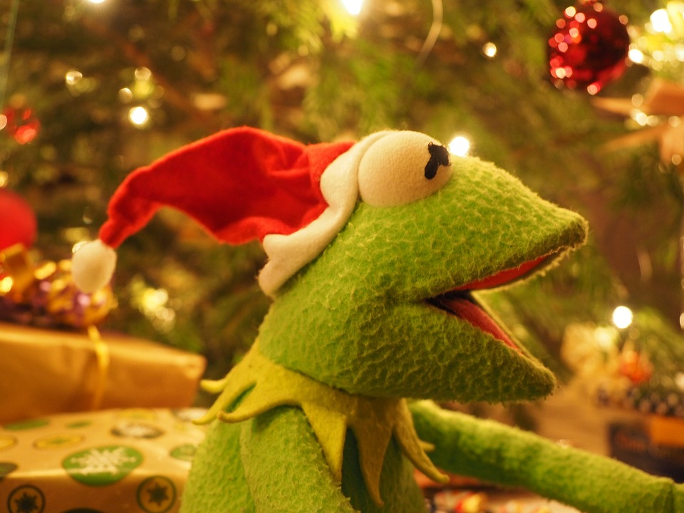 Kermit Frog Christmas · Free photo on Pixabay