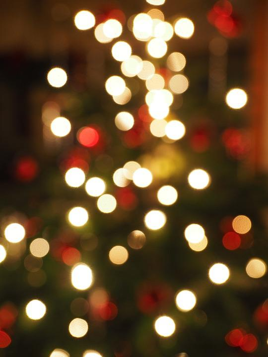 Free Photo Christmas Out Of Focus Bokeh Free Image On