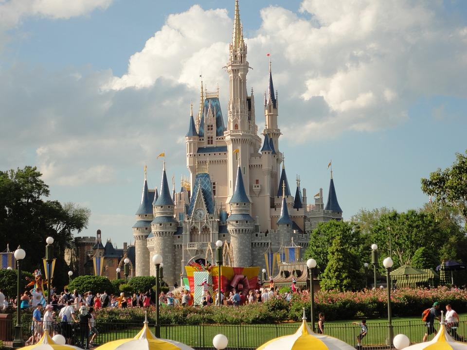 Disneyland, Disney, Castillo, Mundo De Fantasía