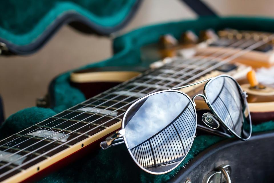 Guitarra Aviador Gafas De Sol La · Foto gratis en Pixabay