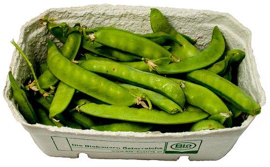 Sugar Peas, Peas, Cup, Vegetables, Green
