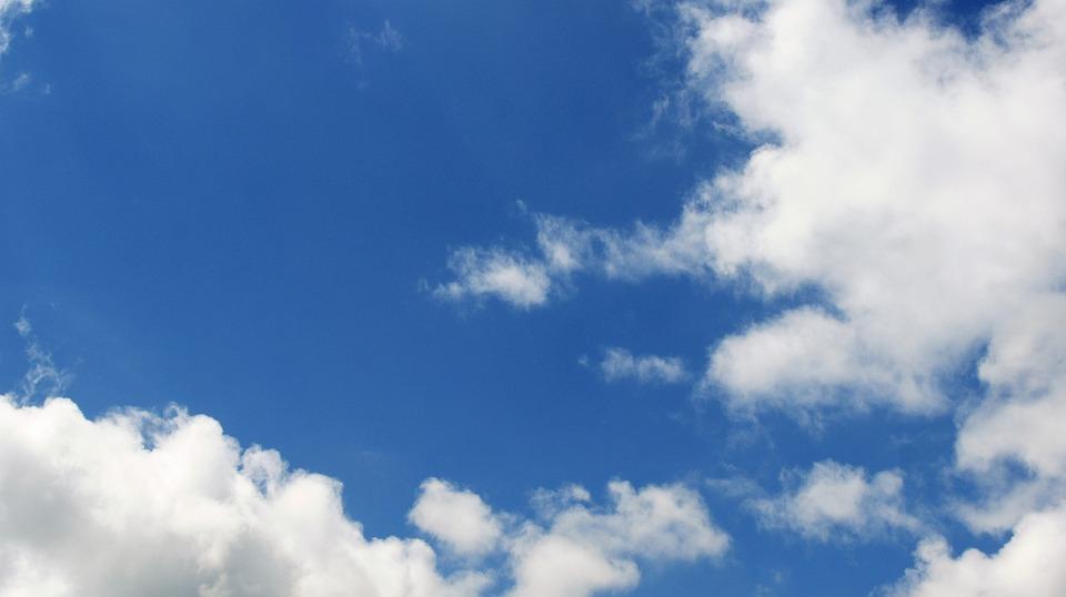 Fotos E Imagenes Cielo Azul Con Nubes: Nubes Cielo Azul Del · Foto Gratis En Pixabay