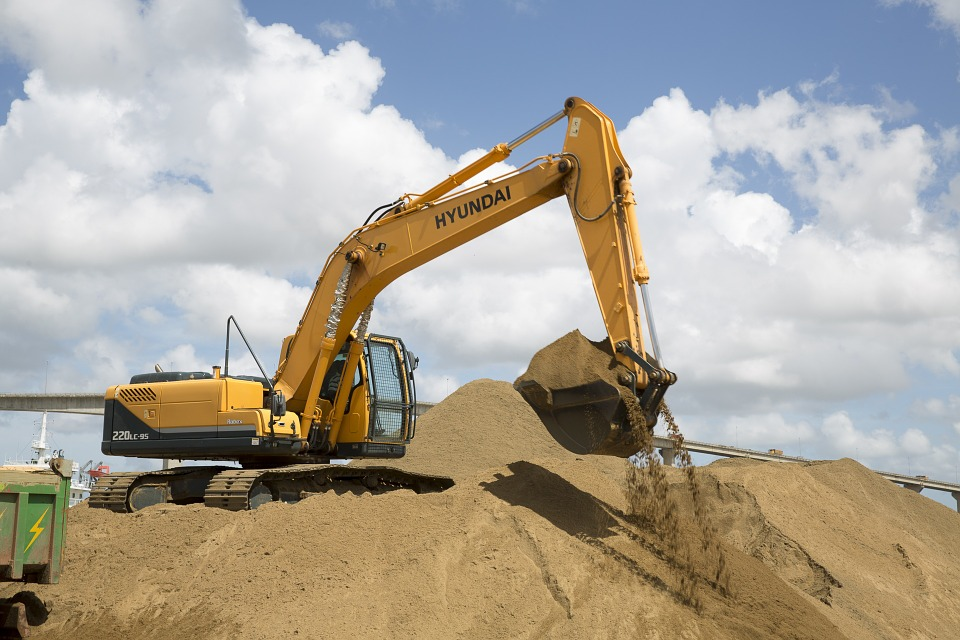 Free photo excavation power shovel excavator free for Building construction types for insurance
