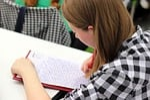study, student, dictation