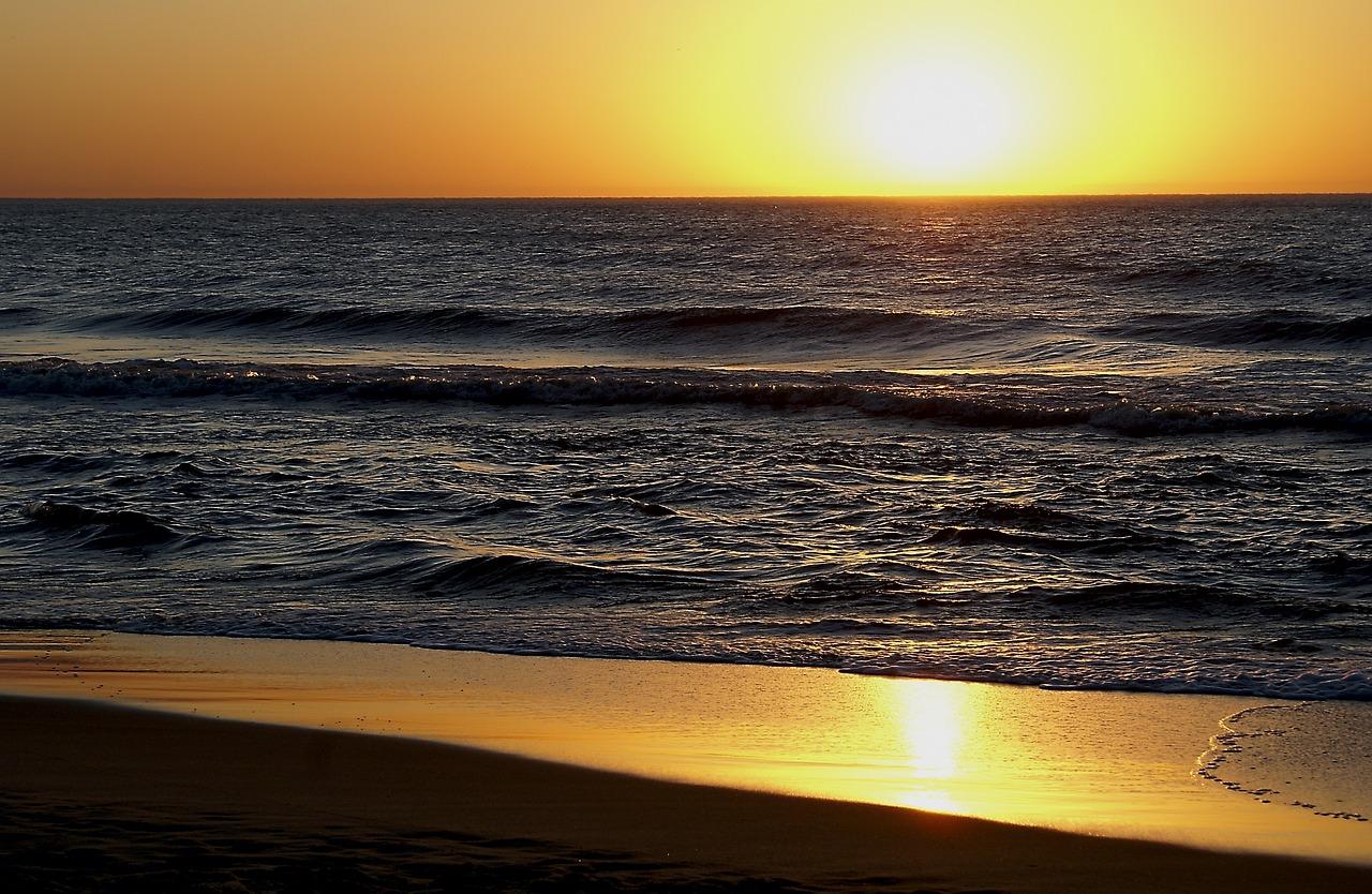 пляж берег закат живые картинки это