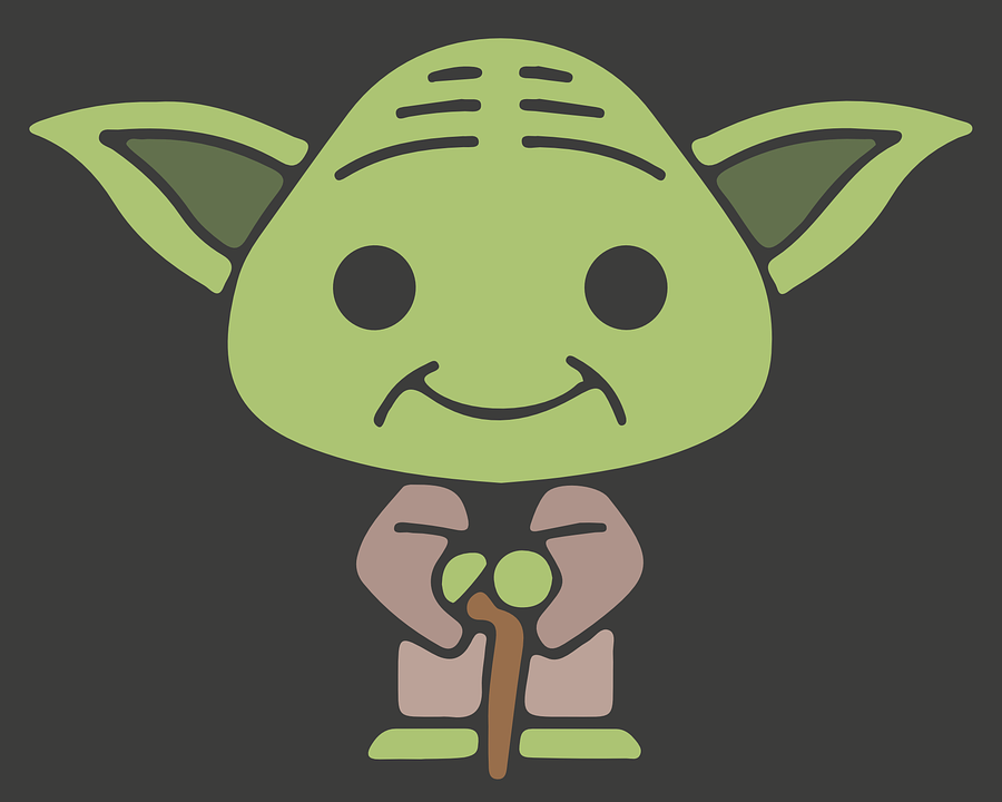 yoda jedi star wars free vector graphic on pixabay rh pixabay com vector hd free yoda vector cad file