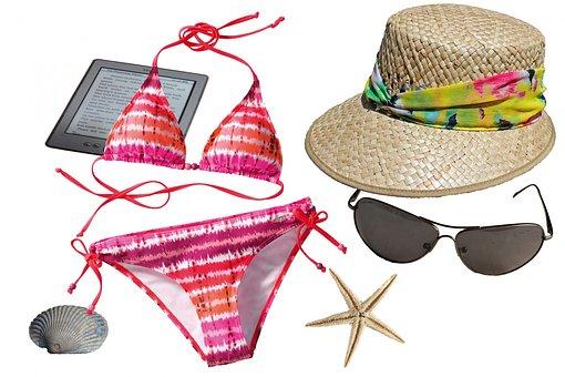 Summer, Bikini, Hat, Sun Hat, Straw Hat