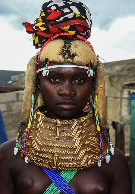 Young Mumuila Woman  Free Photo On Pixabay